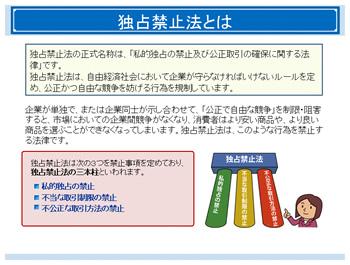 7.独占禁止法