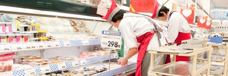 小売店舗販売支援(食品製造業)の画像