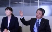 AsahiGas_Chujo&inaba_prof
